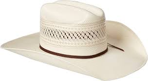 Ariat Mens 20X Straw Cowboy Hat    A73112