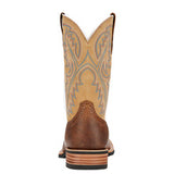 Ariat Mens Quickdraw Tumbled Bark Western Boots 10002224