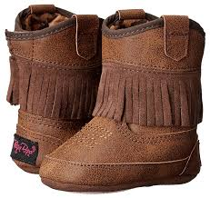 Baby Buckers Girl Infant Annabelle Boots  4421802