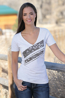 Cinch Womens V-Neck Tee  MST7800002