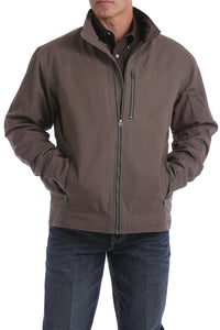 Cinch Mens Concealed Carry Canvas Jacket Light Brown  MWJ1505001
