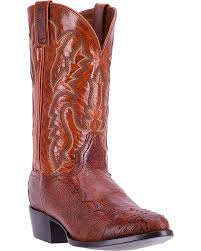 Dan Post Mens Pugh Smooth Ostrich Boot  DPP5210