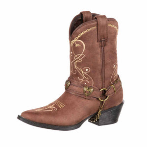 Durango Girls Lil' Crush Heartfelt Western Boots DBT0135