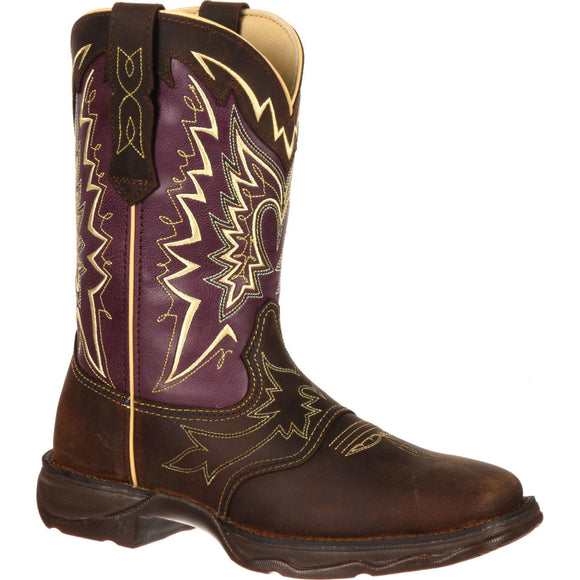CLOSEOUT-Durango Womens Lady Rebel Let Love Fly Western Boots  RD027