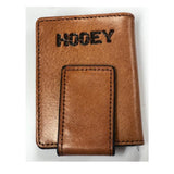 Hooey Mens Basketweave Money Clip 1910565M