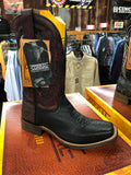 Corral Men's Tyson Black Square Toe Western Boots A3514