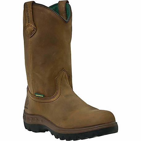 John Deere Mens Waterproof Wellington Work Boot - JD4504