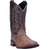 Lardo Mens Montana Sand Brown Square Toe Boots 7800