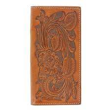 Nocona Mens Floral Rodeo Wallet N5439008
