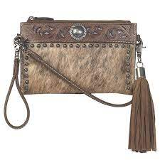 M&F Blazin Roxx Lynlee Style Crossbody Belt Bag, Brown    N770002102