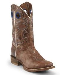 Nocona Mens Go Round Tan Western Boots   NB5536