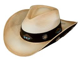 Outback Trading Womens Sedona Straw Bead Wide Band Hat   Tea 15118