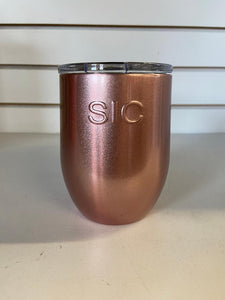 SIC 16oz Stemless Cup/Rose Gold