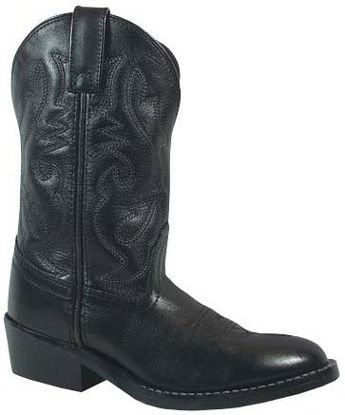 Smokey Mountain Childrens Denver Black Western Boots  3032