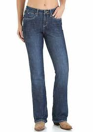 Wrangler Womens Aura Instantly Slimming Jean, Midnight Spark  WUT74MS