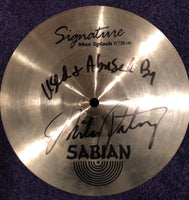 "Autographed Used MP 11"" Sabian Max Splash"