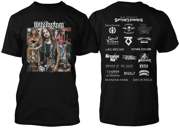 Mike Portnoy Photo & Band Shirt