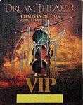 Autographed Chaos In Motion 2007/2008 VIP Tour Stickie