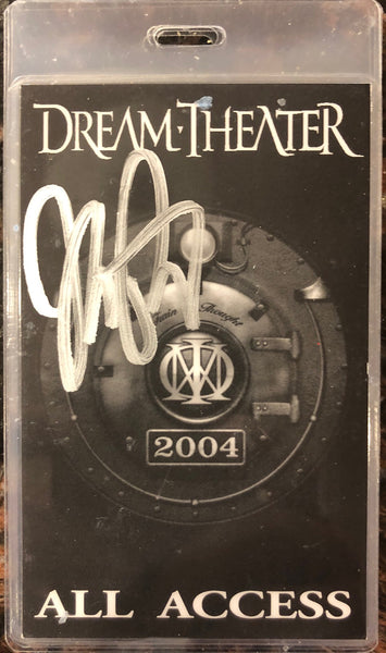 Autographed Train Of Thought 2004 Tour Laminate