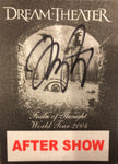 Autographed Train Of Thought Aftershow Tour Stickie