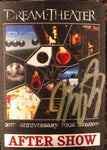 Autographed 20th Anniversary Aftershow Tour Stickie