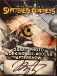 Autographed Shattered Fortress Tour Stickie