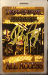 Autographed Chaos In Motion 2007/2008 All Access Tour Laminate