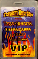 Autographed Progressive Nation 2009 VIP Tour Laminate