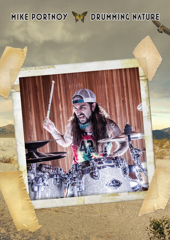 Mike Portnoy - Drumming Nature (Flying Color's Second Nature Drum Cam)