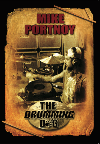 Mike Portnoy - The Drumming Dog (The Winery Dogs Debut Album Drum Cam) - DVD
