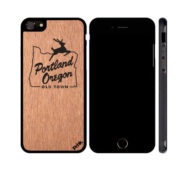 Portland Stag Metal iPhone or Galaxy Case