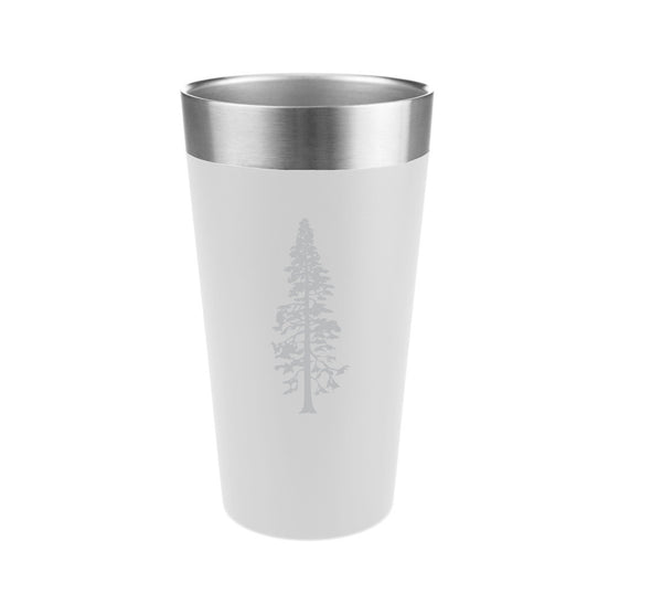 Pine Tree Stainless Steel Insulated Pint