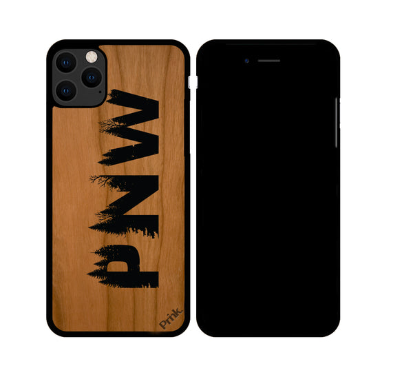 PNW Grown Wood iPhone or Galaxy Case