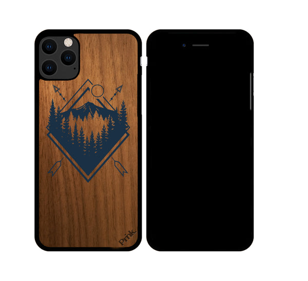 Outdoor Badge Wood iPhone or Galaxy Case