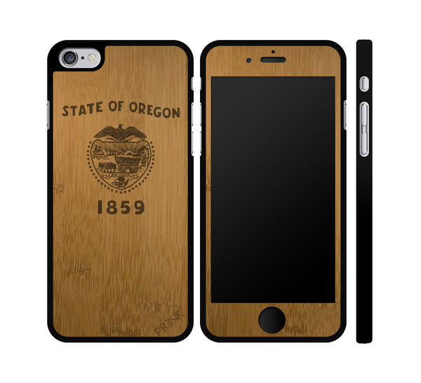 Oregon State Flag iPhone or Galaxy Case