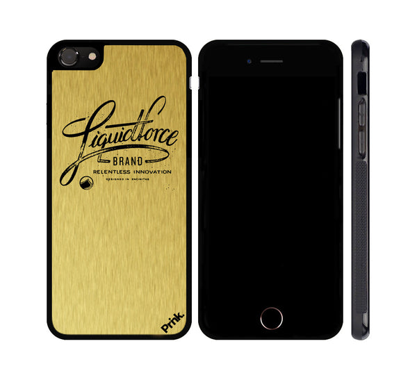 Liquid Force - Classic Logo - Metal iPhone or Galaxy Case
