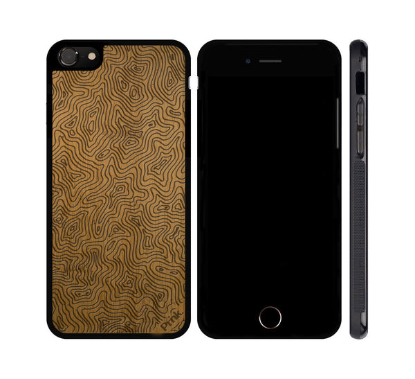 Topo Wood iPhone or Galaxy Case