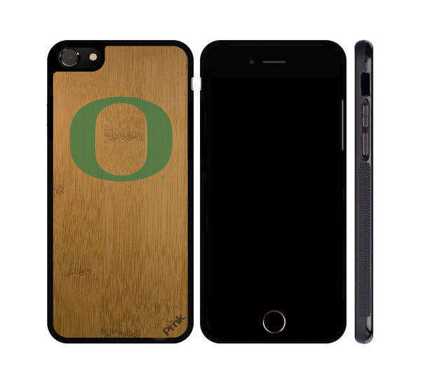 University of Oregon Green 'O' Wood iPhone or Galaxy Case