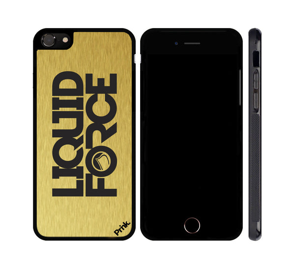 Liquid Force - Devil Stack Logo - Metal iPhone or Galaxy Case