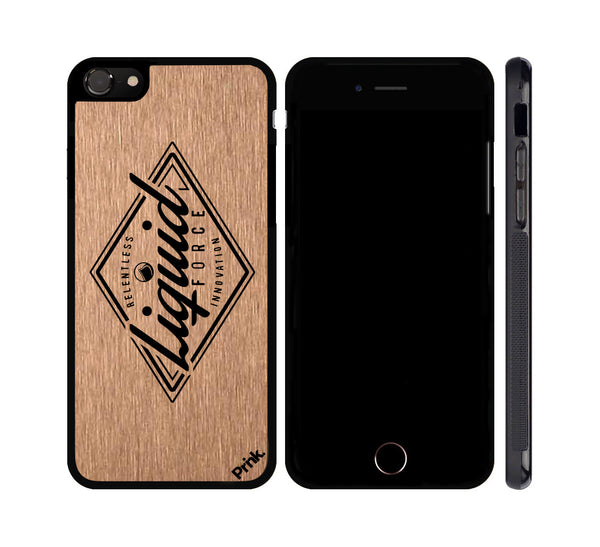 Points Logo Metal iPhone or Galaxy Case by Liquid Force