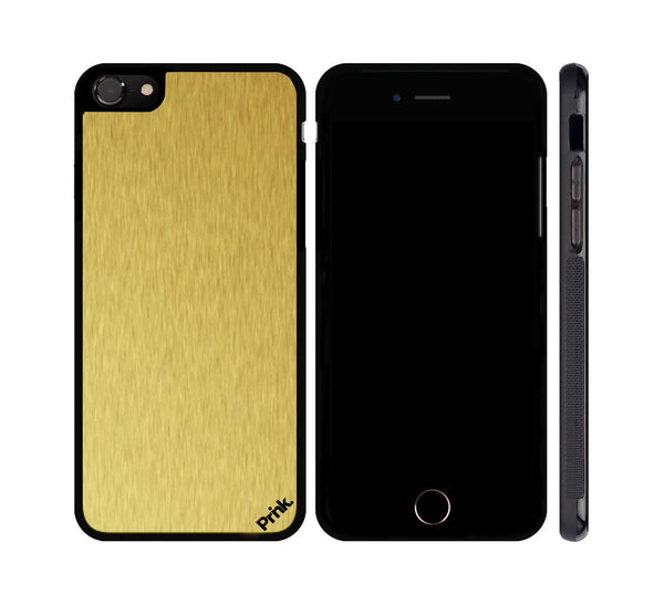 Brushed Metal iPhone or Galaxy Case