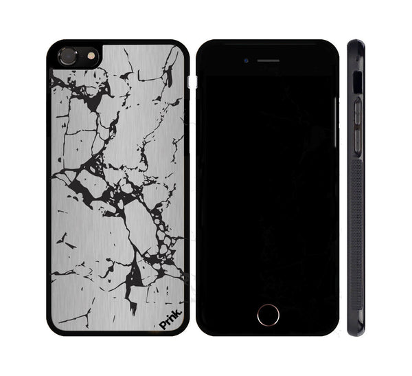 Marble Pattern Metal iPhone or Galaxy Case