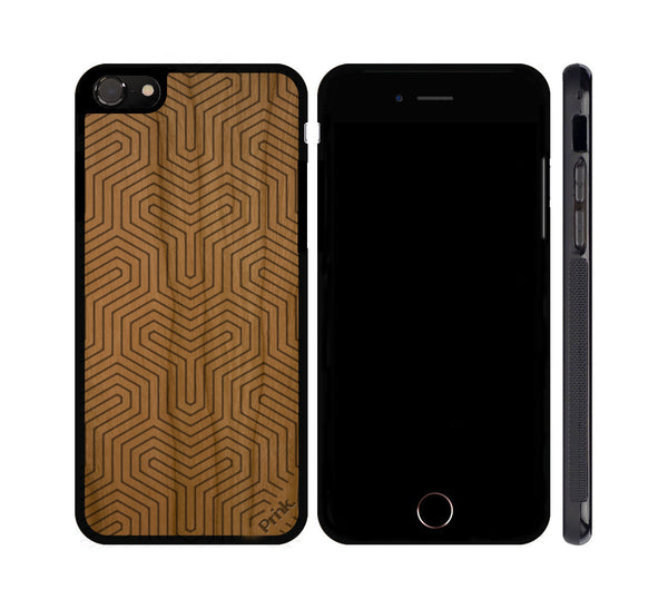 Three Points Wood iPhone or Galaxy Case