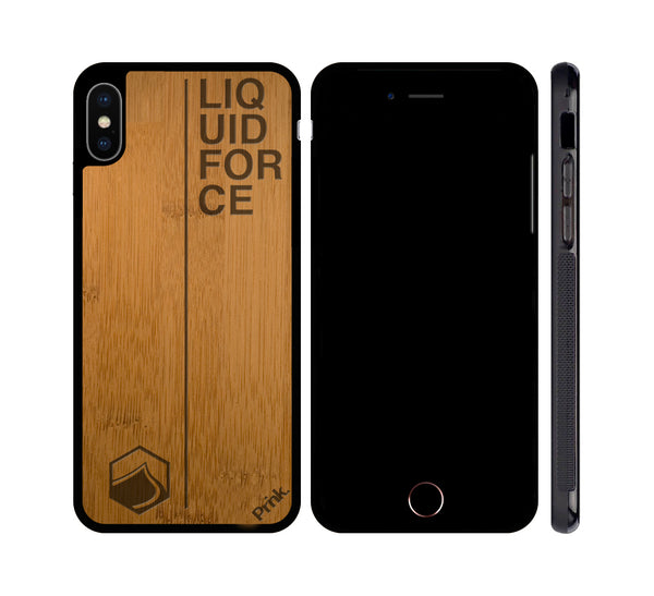 Liquid Force Next Logo Wood iPhone or Galaxy Case