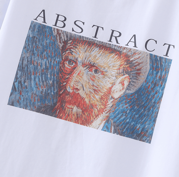Abstract Vincent Shirt - Weartro