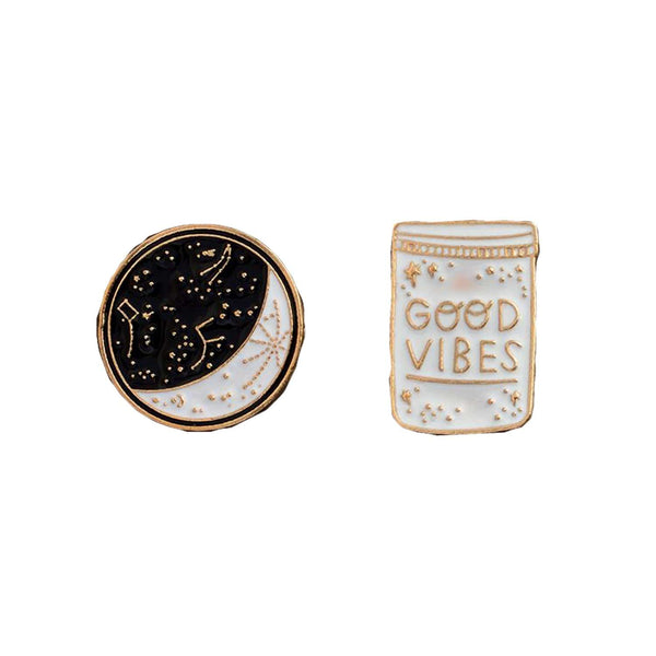 Good Vibes Pins