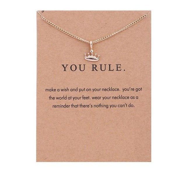 Make A Wish Necklace: You Rule - Weartro
