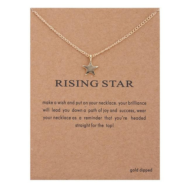 Make A Wish Necklace: Rising Star - Weartro