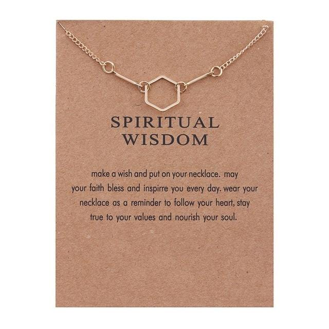 Make A Wish Necklace: Spiritual Wisdom - Weartro