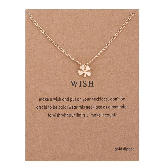 Make A Wish Necklace: Wish - Weartro